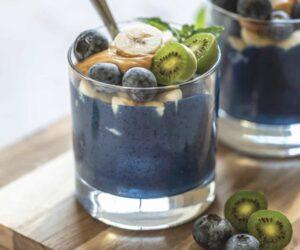 Blueberry Spirulina Smoothie